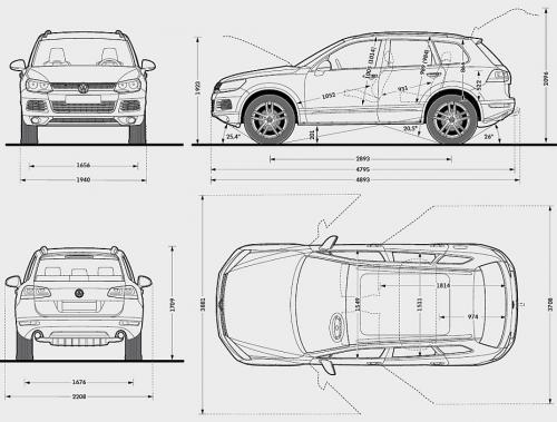 volkswagen touareg ii suv  u2022 dane techniczne  u2022 autocentrum pl