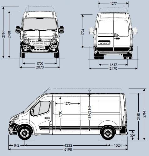 Zupełnie nowe Opel Movano III Furgon L3H2 FWD • Dane techniczne • AutoCentrum.pl UJ65