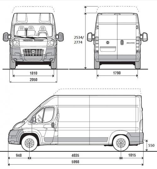 Super Fiat Ducato III Furgon długi • Dane techniczne • AutoCentrum.pl AV06