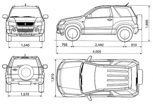 Suzuki Grand Vitara II SUV 3d Facelifting • Dane ...