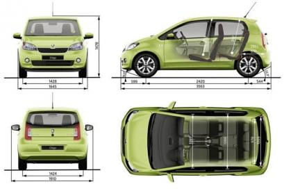 Skoda Citigo Hatchback 5d Facelifting