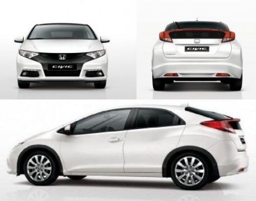 Honda civic ix hatchback 5d dane techniczne for Honda civic 9 interieur