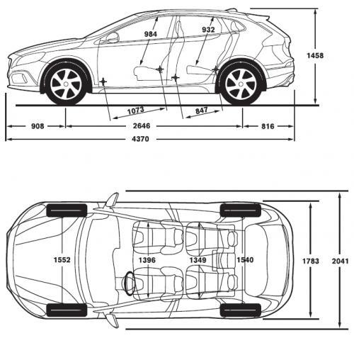 Volvo V40 Ii Cross Country Dane Techniczne Autocentrum Pl