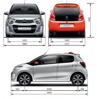 Citroen C1 Hatchback 3d Facelifting 2012