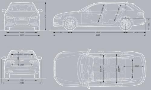 Audi A4 B8 Avant Facelifting Dane Techniczne Autocentrumpl