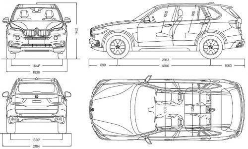 Bmw X5 F15 Suv Dane Techniczne Autocentrum Pl