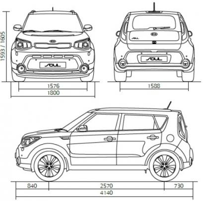 Kia Soul Crossover Facelifting