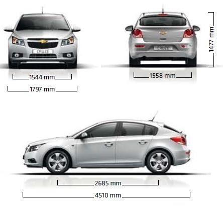 Chevrolet Cruze Hatchback 5d Dane Techniczne Autocentrum Pl