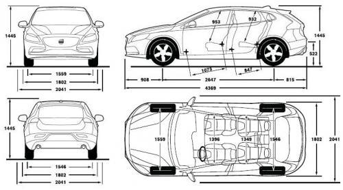 volvo v40 ii hatchback  u2022 dane techniczne  u2022 autocentrum pl