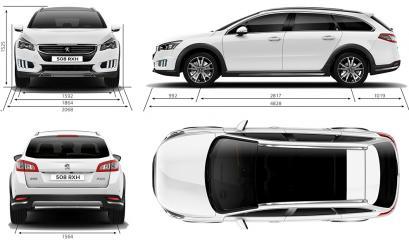 peugeot 508 i rxh facelifting - silniki, dane, testy • autocentrum.pl