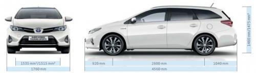 Toyota Auris Ii Touring Sports Dane Techniczne Autocentrum Pl