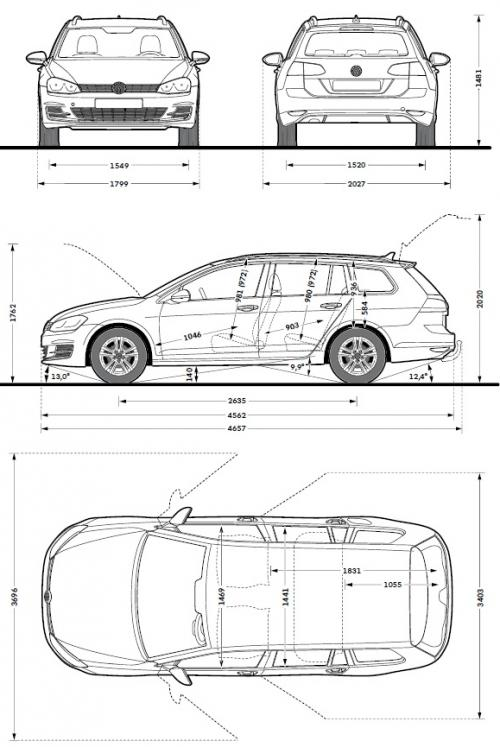 Nietypowy Okaz Volkswagen Golf VII Variant • Dane techniczne • AutoCentrum.pl YH66