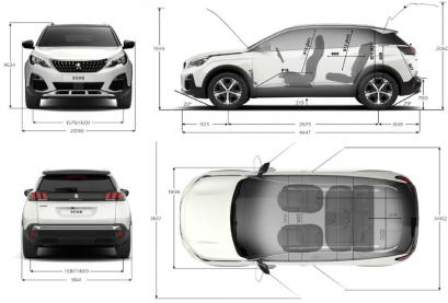 Peugeot 3008 Crossover Facelifting
