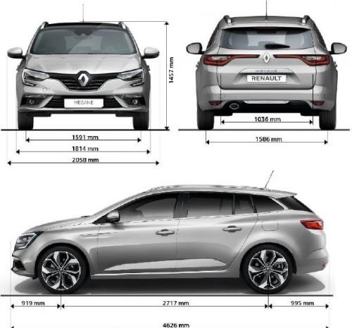Renault Megane Iv Grandtour Dane Techniczne Autocentrum Pl