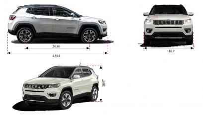 Jeep Compass I SUV Facelifting