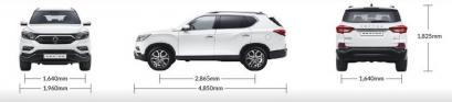 Ssangyong Rexton Terenowy