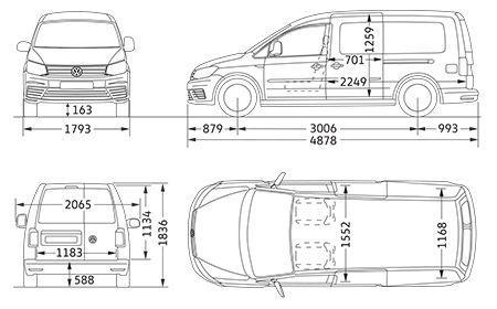 volkswagen caddy iv caddy alltrack dane techniczne. Black Bedroom Furniture Sets. Home Design Ideas