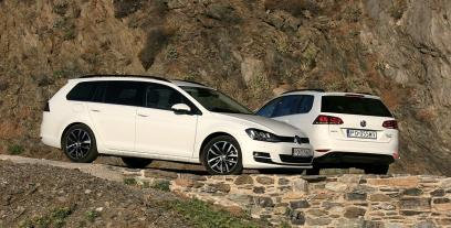 Volkswagen Golf VII Variant 1.6 TDI CR DPF BlueMotion Technology 105KM 77kW 2013-2017