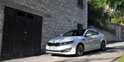 Kia Optima I Sedan 2.0 DOHC 170KM 125kW 2011-2012