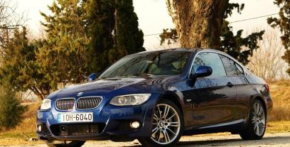 BMW Seria 3 E90-91-92-93 Coupe E92 Facelifting 320d 184KM 135kW 2010-2013