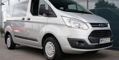 Ford Tourneo Custom I L2 2.2 TDCi 125 KM 92 kW