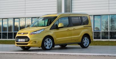 Ford Tourneo Connect II Standard 1.6 Duratorq TDCi 95 KM 70 kW