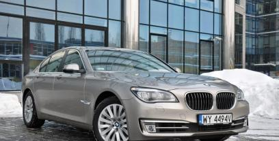 BMW Seria 7 F01 Sedan Facelifting 750d 381KM 280kW 2012-2015