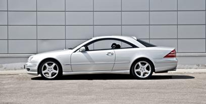 Mercedes CL W215 Coupe 6.0 367 KM 270 kW