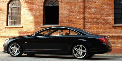 Mercedes CL W216 Coupe 65 AMG 612 KM 450 kW