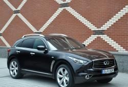 Infiniti FX II Crossover Facelifting