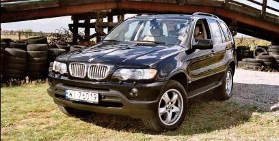 BMW X5 E53 4.6iS 340KM 250kW 2001-2004