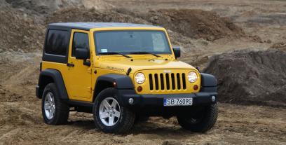 Jeep Wrangler III Terenowy Facelifting 3.6 V6 286KM 210kW 2011-2018