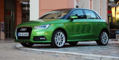 Audi A1 Sportback 5d Facelifting 1.4 TFSI CoD 150KM 110kW 2015-2018