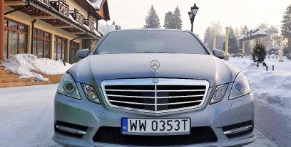 Mercedes Klasa E W212 Limuzyna 200 CGI BlueEFFICIENCY 184KM 135kW 2009-2012