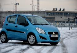 Suzuki Splash Hatchback 5d Facelifting -