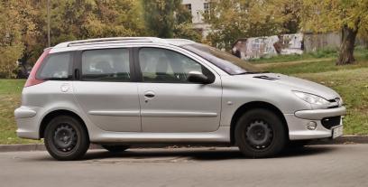 Raport Spalania Peugeot 206 Kombi Zuzycie Paliwa Autocentrum Pl