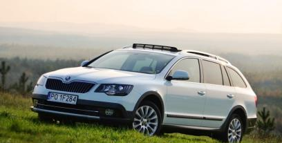Skoda Superb II Outdoor