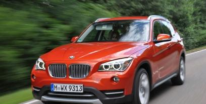 BMW X1 E84 Crossover Facelifting