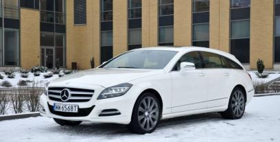 Mercedes CLS W218 Shooting Brake 63 AMG S 585 KM 430 kW