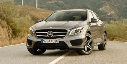 Mercedes GLA Off-roader 220 CDI 170KM 125kW 2013-2017