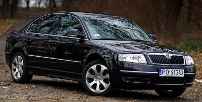 Skoda Superb I 2.0 115KM 85kW 2001-2008