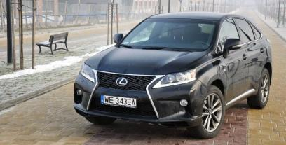 Lexus RX III SUV  Facelifting 350 277KM 204kW 2012-2015