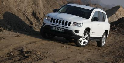 Jeep Compass I SUV Facelifting 2.2 CRD 163KM 120kW 2011-2013