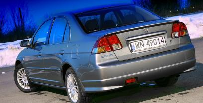 Honda Civic VII Sedan 1.6 i 16V 110KM 81kW 2001-2005