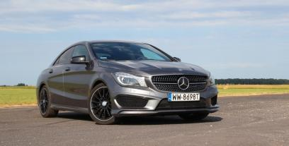 Mercedes CLA Coupe 180 BlueEFFICIENCY Edition 122KM 90kW 2013-2016