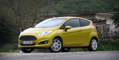 Ford Fiesta VII Hatchback 3d Facelifting 1.5 TDCi ECOnetic 95 KM 70 kW