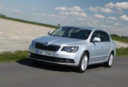 Skoda Superb II Sedan Facelifting -
