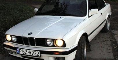 BMW Seria 3 E30 Coupe 318 is 136KM 100kW 1989-1991