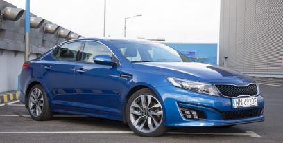 Kia Optima I Sedan Facelifting 2.0 DOHC 165KM 121kW 2013