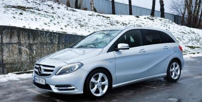 Mercedes Klasa B W246 Sports Tourer 200 BlueEFFICIENCY 156KM 115kW 2011-2015